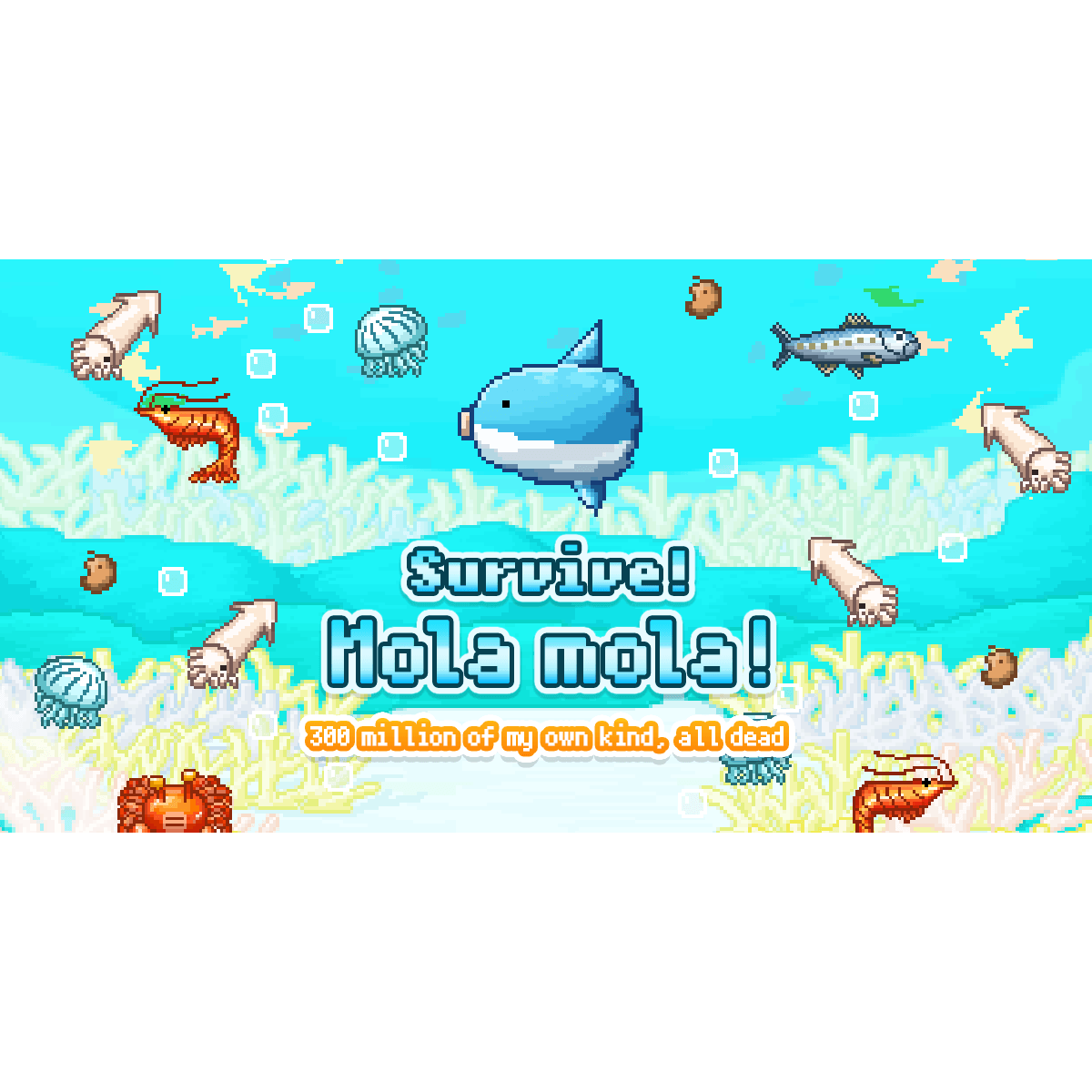 Survive! Mola mola! Official Website